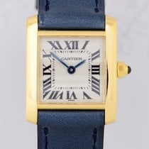 Cartier Tank Francaise Lady 18K Gold Klassik Dresswatch Top...