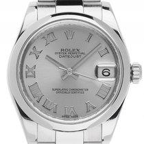 Rolex Datejust Medium Stahl Automatik Armband Oyster 31mm...