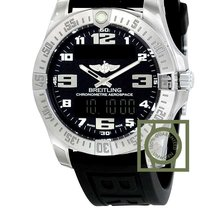 Breitling Aerospace EVO Black Dial Rubber NEW