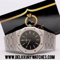 Audemars Piguet Royal Oak 15202 Blu dial Never polished Just...