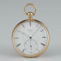 Jules Jürgensen 1855 Feder- Chronometer Hemmung Taschenuhr 18k...