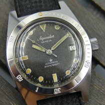 Aquastar Geneve automatic 200M/600FT AS 1902 /03 RARE diver sub
