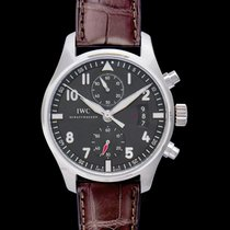 IWC Grey new Pilot Spitfire Chronograph