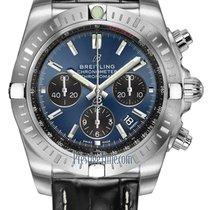 Breitling Chronomat Acero 44mm Azul