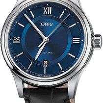 Oris Classic Acero 42mm Azul
