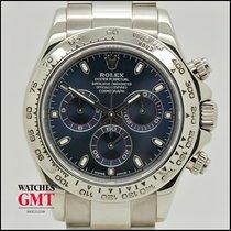 Rolex Daytona White Gold Blue Dial