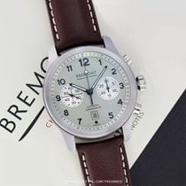 Bremont Chronograph 43mm Automatic pre-owned ALT1-C Classic White