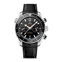 Omega Seamaster Planet Ocean Chronograph Steel 45.5mm Black United States of America, Iowa