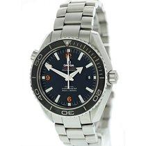 Omega Seamaster Planet Ocean Steel 45.5mm Black United States of America, New York, New York