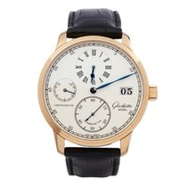 Glashütte Original Senator Chronometer regulator 18K Rose Gold...