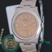 Rolex Oyster Perpetual 36 Stahl 36mm Gold
