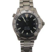 Omega Seamaster Titanium 41mm Black No numerals
