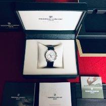 Frederique Constant Classics Chronograph tweedehands 40mm Zilver