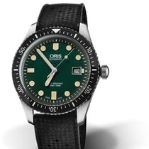 Oris Divers Sixty Five Steel 42mm Green No numerals United States of America, Texas, FRISCO