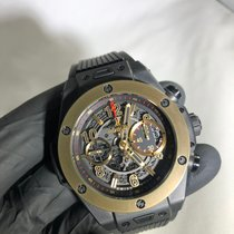 Hublot Big Bang Unico pre-owned 45mm Chronograph Date Rubber