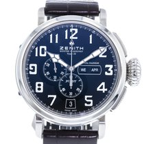 Zenith Pilot Type 20 Annual Calendar Steel 48mm Black United States of America, Georgia, Atlanta
