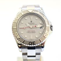 Rolex Yacht-Master Steel 35mm Silver No numerals