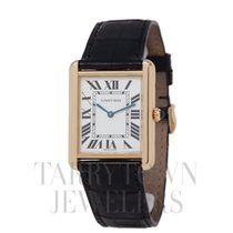 Cartier Tank Solo pre-owned 27mm Silver Buckle