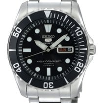 Seiko 5 Sports Steel 41mm Black