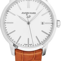 JeanRichard 1681 Staal Wit