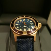 Glycine Bronze Automatic Black 42mm pre-owned Combat SUB