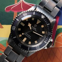 Tudor Submariner Steel 40mm Black No numerals United States of America, California, Newport Beach