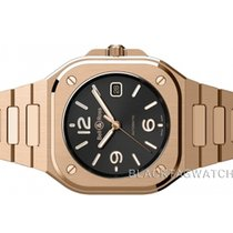 Bell & Ross Rose gold Automatic Black Arabic numerals 40mm new BR 05