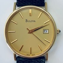 Bulova Yellow gold Quartz Champagne 32mm pre-owned