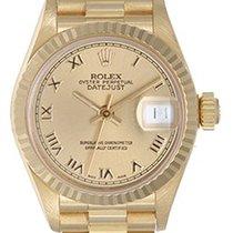 Rolex Lady-Datejust 26mm Champagnerfarben Römisch