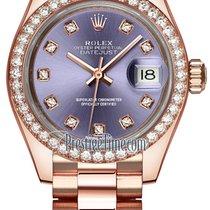 Rolex Lady-Datejust Or rose 28mm Violet
