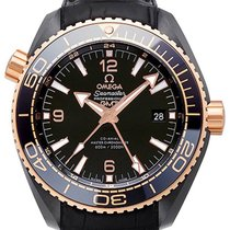 Omega Seamaster Planet Ocean GMT 600M Deep Black 45.5