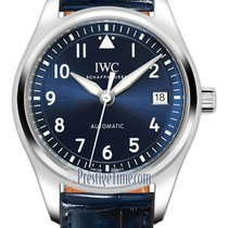 IWC Pilot's Watch Automatic 36 Aço 36mm Azul