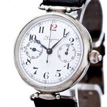 Longines Vintage Chronographe Compteur Cal 13 33Z Silver Bj-1917