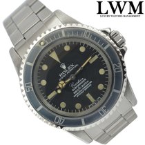 Rolex Submariner 5512 by CARTIER  1970's  Service Official Rolex