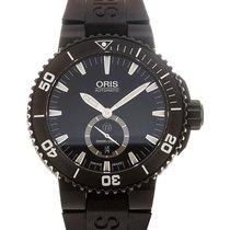 Oris Aquis 46 Date Black Dial