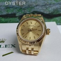 Rolex Oyster Perpetual (Submodel) pre-owned Yellow gold