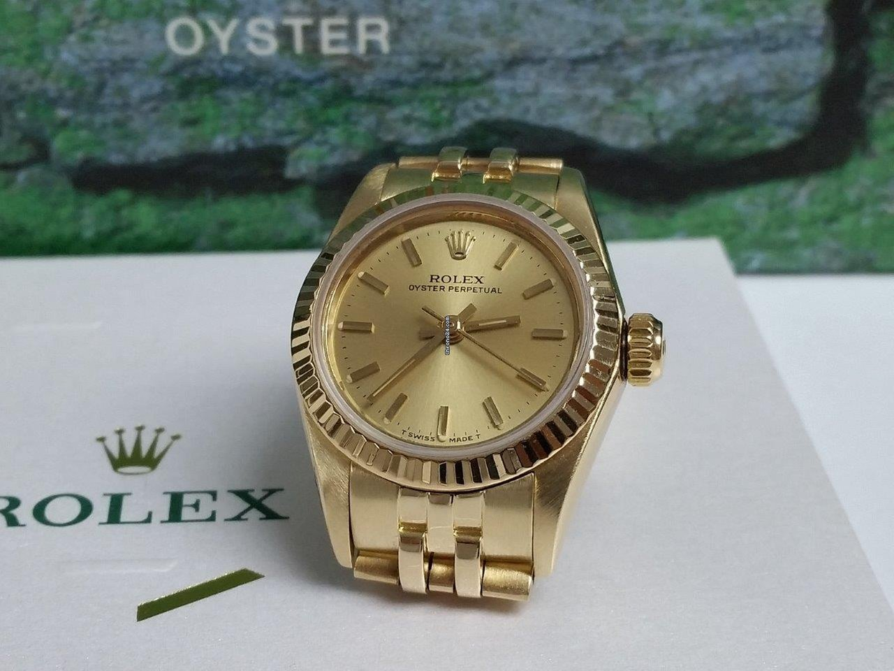 Rolex Vintage Oyster Perpetual Lady President 14k Gold ORIGINAL