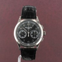 Patek Philippe Chronograph White gold 39mm Black