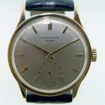 Patek Philippe 35mm Manual winding 1956 pre-owned Calatrava Silver