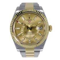 Rolex Sky-Dweller new 42mm Gold/Steel