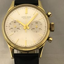 Leonidas Chronograph 36mm Manual winding 1965 pre-owned Silver