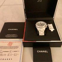 Chanel Chronograph 41mm Automatik 2010 gebraucht J12 Weiß