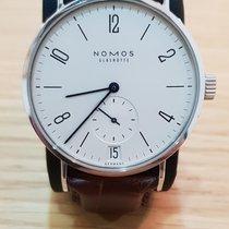 NOMOS Tangomat Datum Steel 38,3mm White Arabic numerals