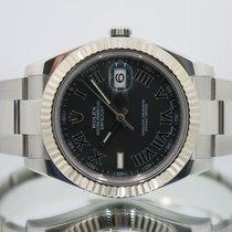 Rolex Datejust II Steel 41mm Grey Roman numerals United Kingdom, Essex