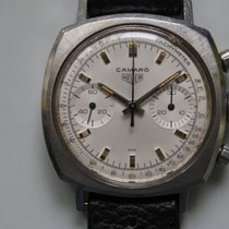 Heuer Acero 37mm Cuerda manual 7743 usados