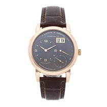 A. Lange & Söhne Rose gold Manual winding Grey Roman numerals 38.5mm pre-owned Lange 1