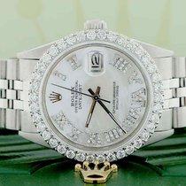 Rolex Datejust Steel 36mm Mother of pearl Roman numerals