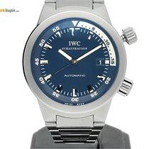 IWC Aquatimer Automatic Staal 42mm Zwart Geen cijfers