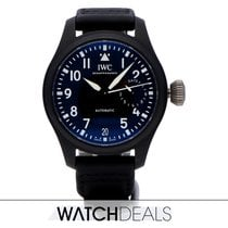 IWC Big Pilot Top Gun Ceramica 46mm Negru Arabic