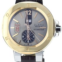 Clerc new Automatic 44mm Gold/Steel Sapphire Glass
